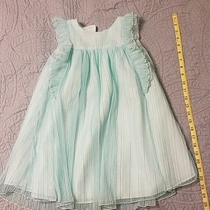 Light teal dress 5t